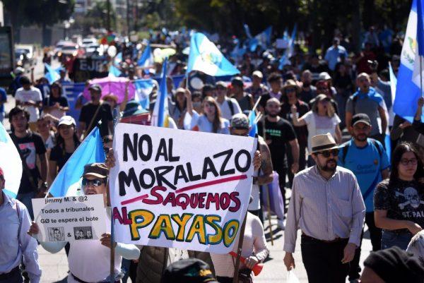 危國總統阻UN反貪調查 街頭掀抗議示威