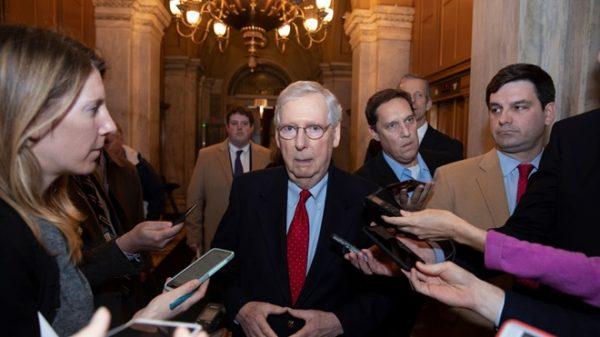 參院共和黨領袖:總統不簽的法案 我們也不浪費時間