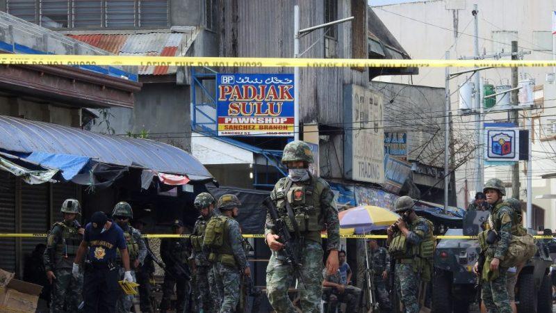 菲南教堂爆炸 警封锁霍洛岛 马尼拉全面警戒