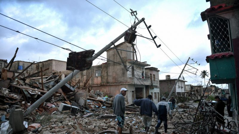 毁灭性龙卷风强袭古巴 满目疮痍至少4死195伤