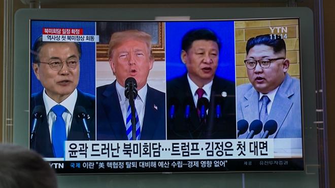 """美媒:中朝结成""""便利婚姻""""抱团对付美国"""