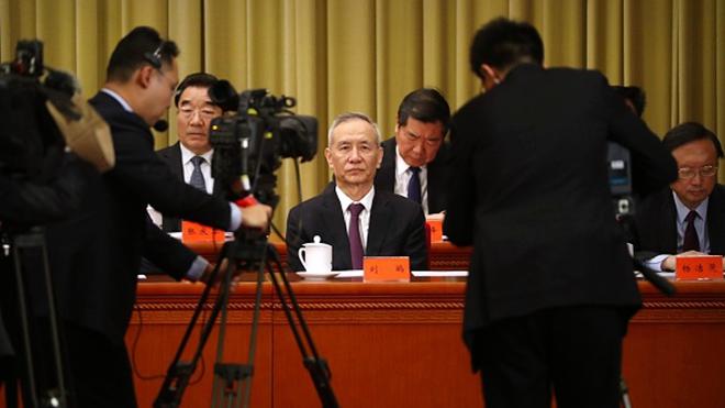 劉鶴訪美「見面禮」? 北京擬審議外商法