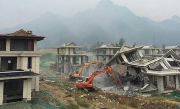 三官员被查  陕西官方首次披露秦岭违建别墅案