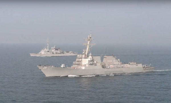 美中貿易談判之際 兩艘美艦駛近南海美濟礁