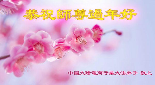 中国大陆四十余行业法轮功学员给李洪志大师拜年(上)