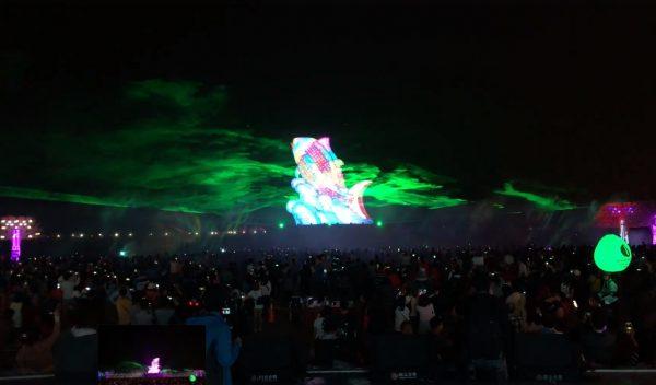 2019台灣燈會主燈 燈組光雕奪目美景(視頻)
