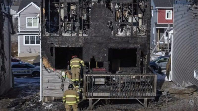 加拿大叙难民住宅遭火吞噬 7名孩童丧命
