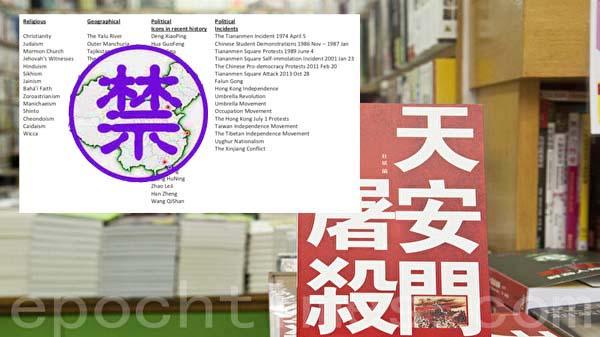 中共审查黑手延伸海外 给全球出版业开列黑名单