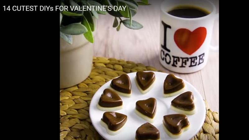 甜蜜有趣的情人節 14種創意禮物(視頻)