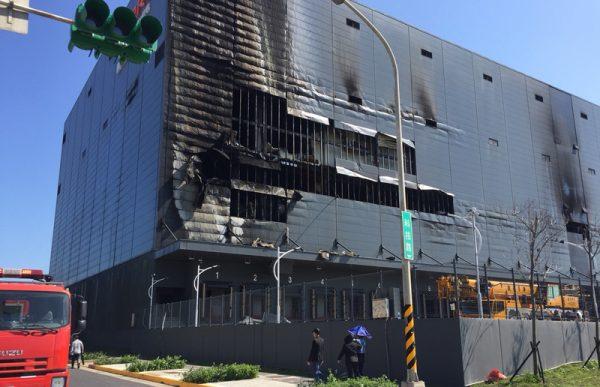 台物流廠大火悶燒逾12小時 致3死1命危