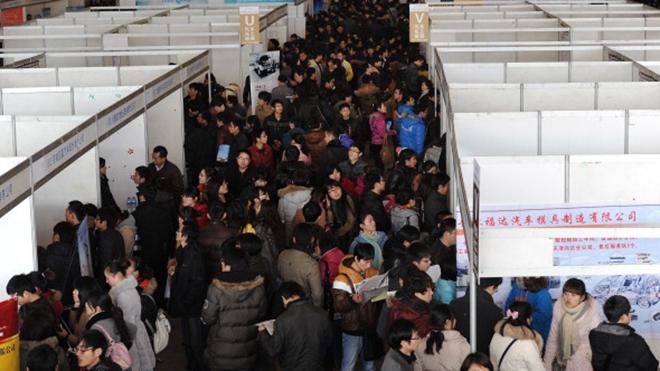 贸易战重击中国经济 失业危机全面来袭