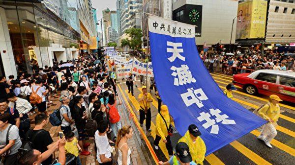台外交官:共产党是癌细胞  影响中国健康发展