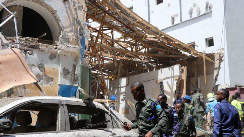 锁定无辜平民 索马利亚首都汽车炸弹攻击酿21人死伤