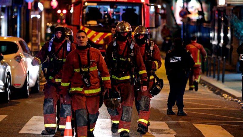 巴黎16区大楼疑遭纵火 火势猛烈酿8死30伤