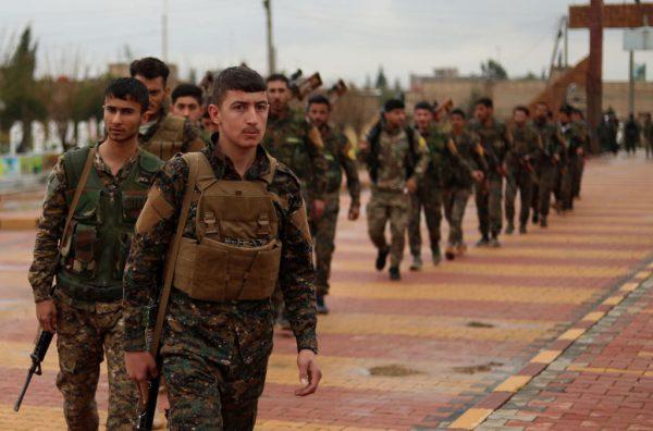 展開殲滅戰鬥 美支持SDF給IS最後一擊