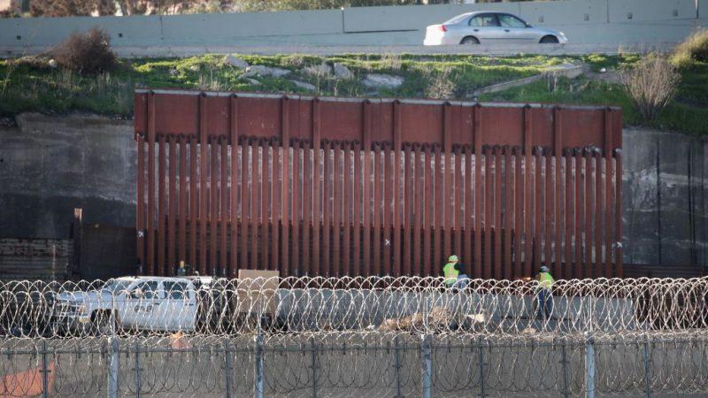 美国土安全部下令 圣地亚哥开始筑墙