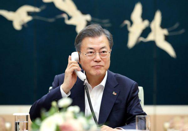 为使美朝达协议 韩媒批评:文在寅急躁亮筹码