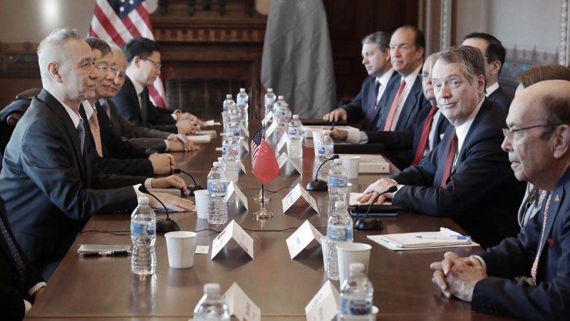 中美谈判气氛凝重一度冷场 川普:将和习近平讨论分歧