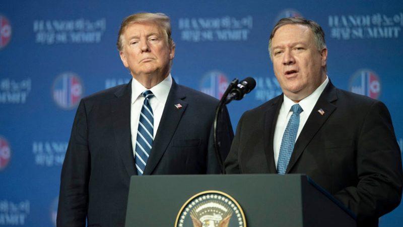 (直播回放) 川金二會未協議  蓬佩奧稱朝鮮沒準備好