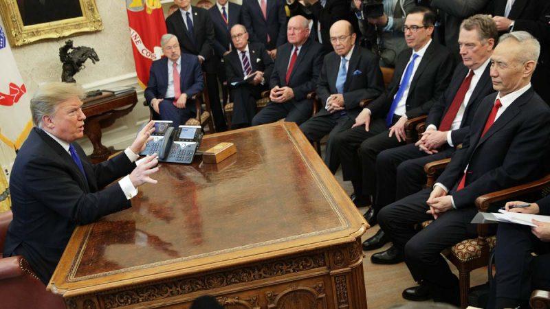 """川普:华盛顿谈判延长两天 """"谁知道""""能否达成协议"""
