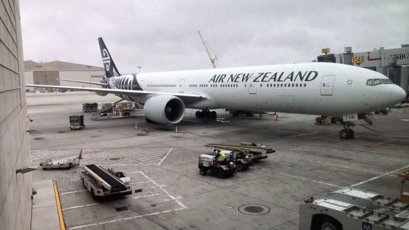 新西兰航班飞上海 未获落地许可被迫中途折返