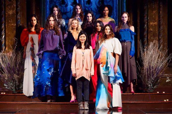 24岁台湾女孩杨子漩站上纽约时装周舞台