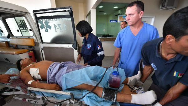 委国军人巴西边境开火 抗议者2死15伤