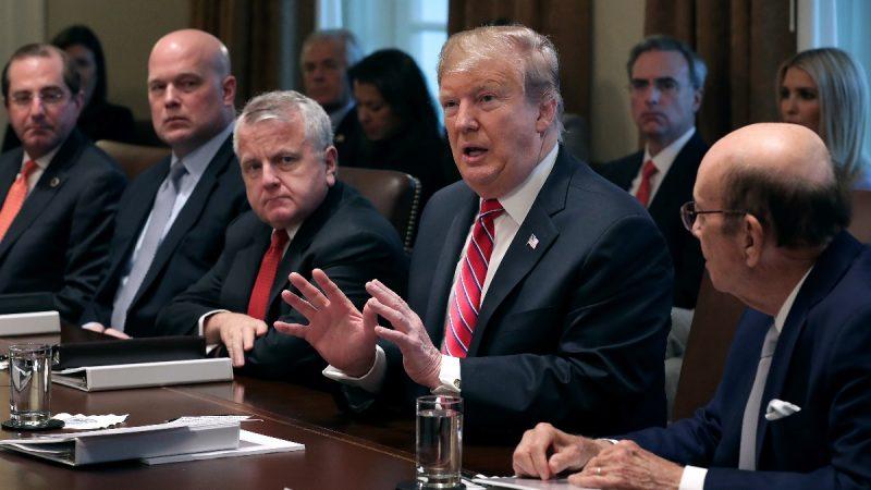 """川普或签预算法案 墙款另辟""""其它来源"""""""