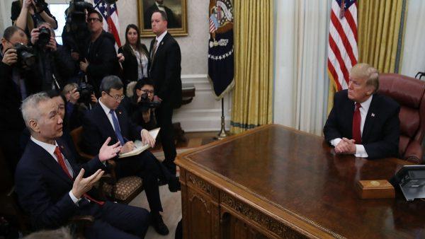 川普会晤刘鹤 宣读习近平来信 白宫透强硬信息