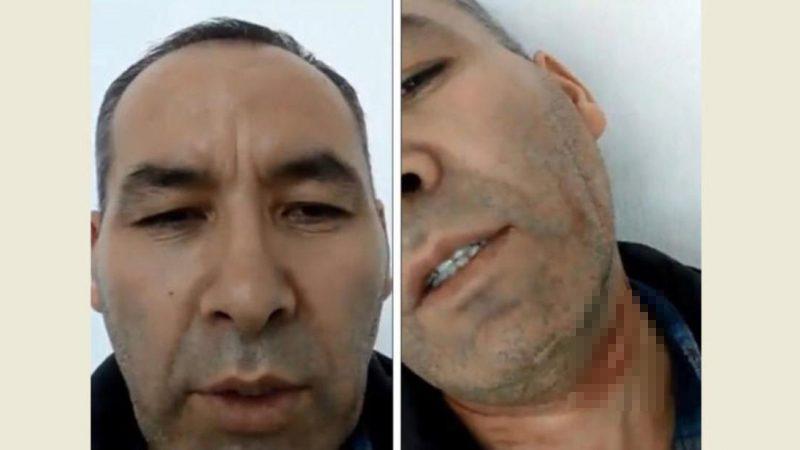 寧死不進新疆再教育營 哈薩克男機場割喉求救