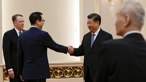 王赫:中美貿易戰原是習近平的一張好牌