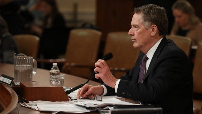 美贸易代表:即使美中达协议 关税大刀仍将高悬