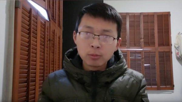 """中共政治诛连祸及家人?""""江苏小哥""""惊爆妈妈被抓(视频)"""