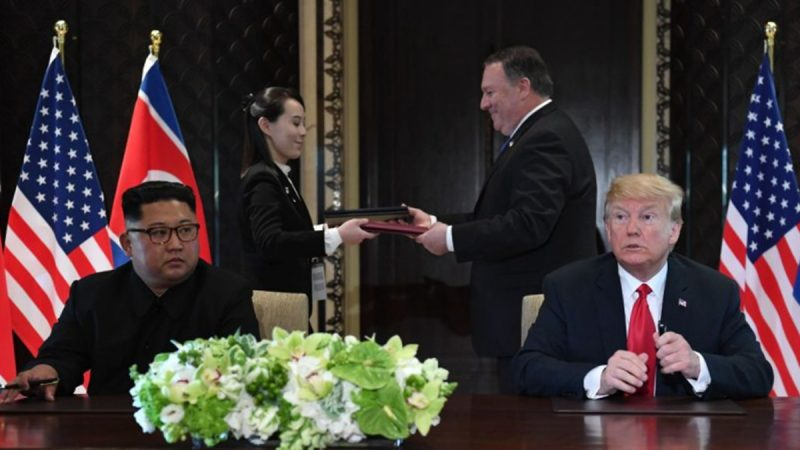 傳金正恩送川普「見面禮」:不想讓後人背着核武器
