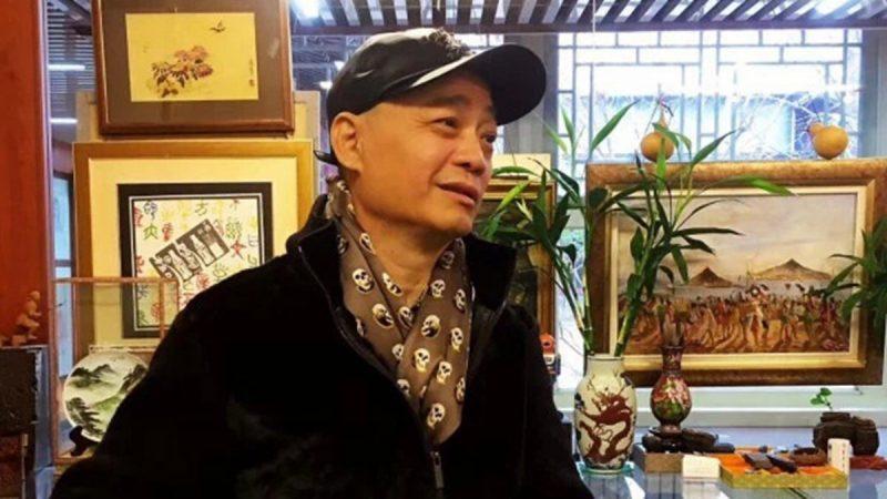 """消失多日崔永元现身 突然被""""包围""""(视频)"""