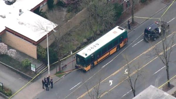 西雅圖一處公車站爆槍擊案 釀2死2重傷