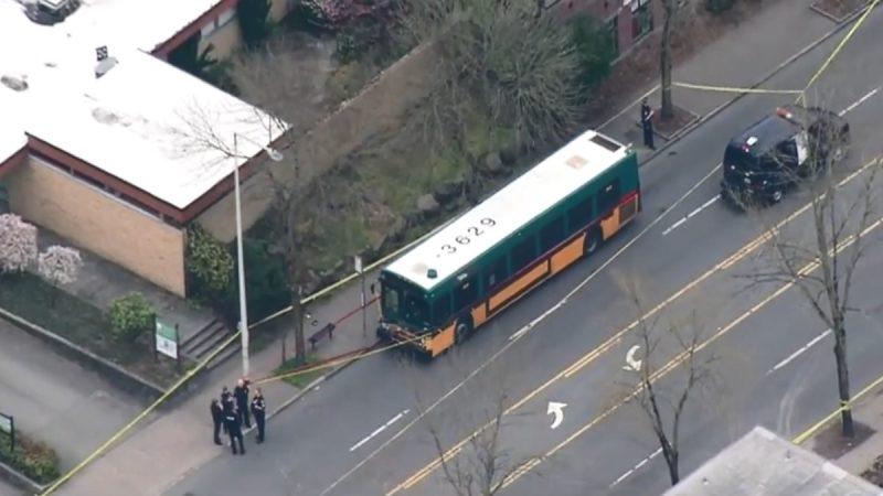 西雅图一处公车站爆枪击案 酿2死2重伤