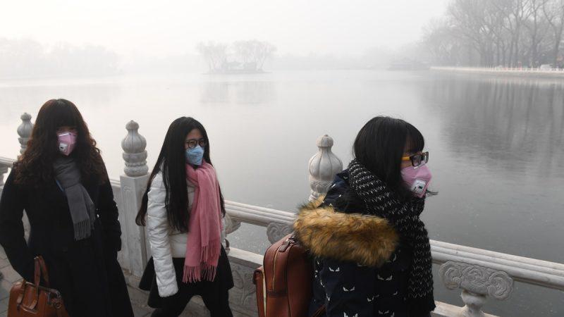 北京不見「兩會藍」 陰霾襲擊達重度污染