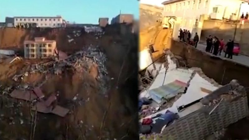 山西乡宁楼房坍塌 酿2死17失踪