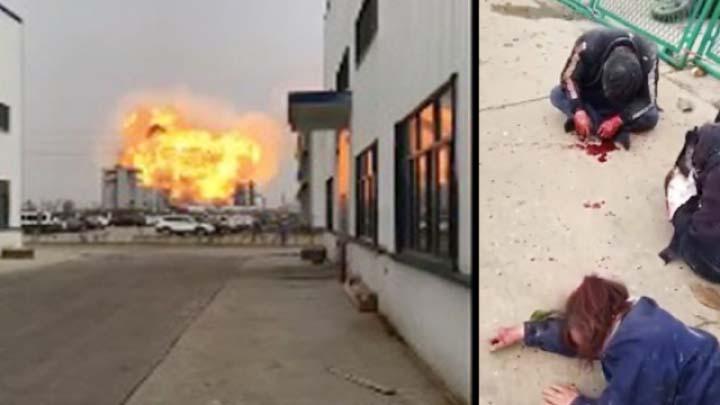 江蘇鹽城大爆炸強致癌物洩漏 官媒隻字不提