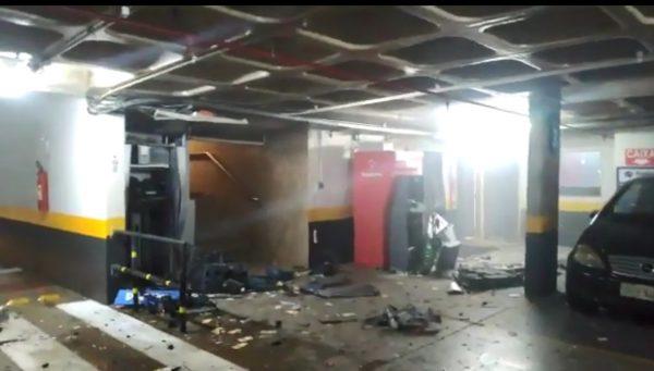 巴西总统府旁酒店3部ATM被炸开 犯案仅2分钟