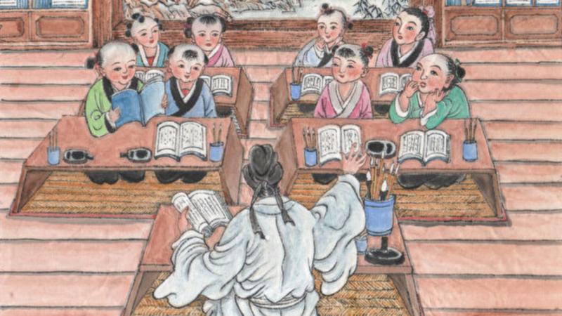 《幼学》故事(12)五戊宴社