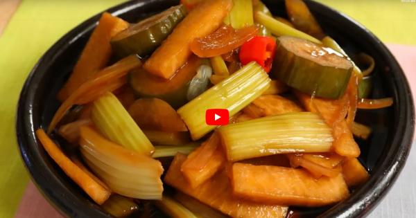 洛杉磯風味韓國泡菜(視頻)