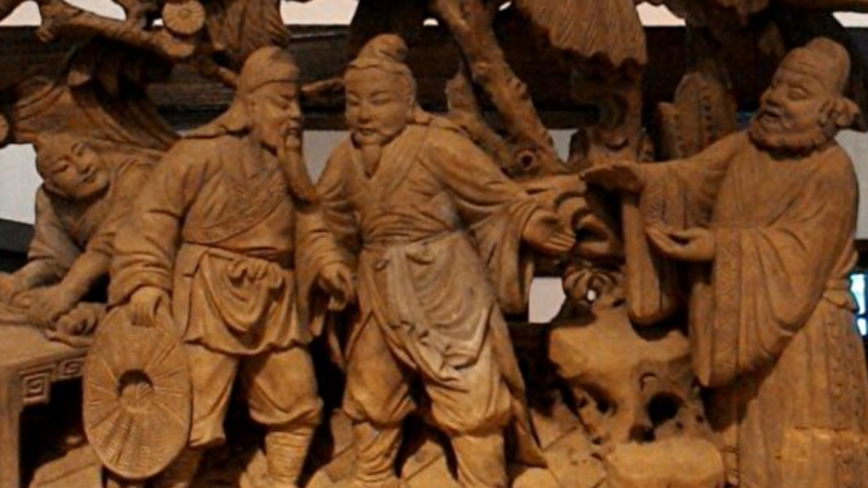 《三国演义》中刘备的仁义