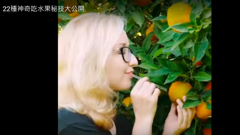 水果還可以這樣吃 22種吃水果秘技大公開 你想不到(視頻)