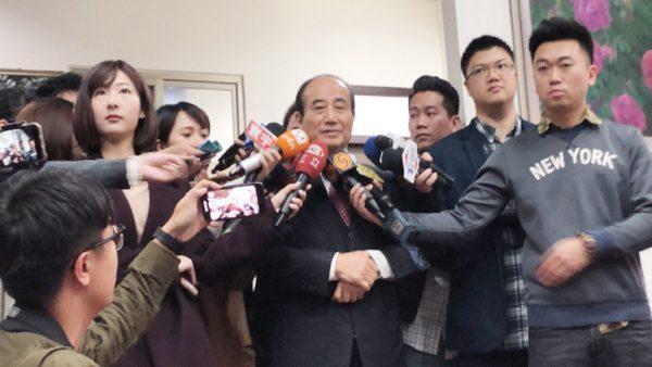 王金平:我是真正有能力團結國民黨
