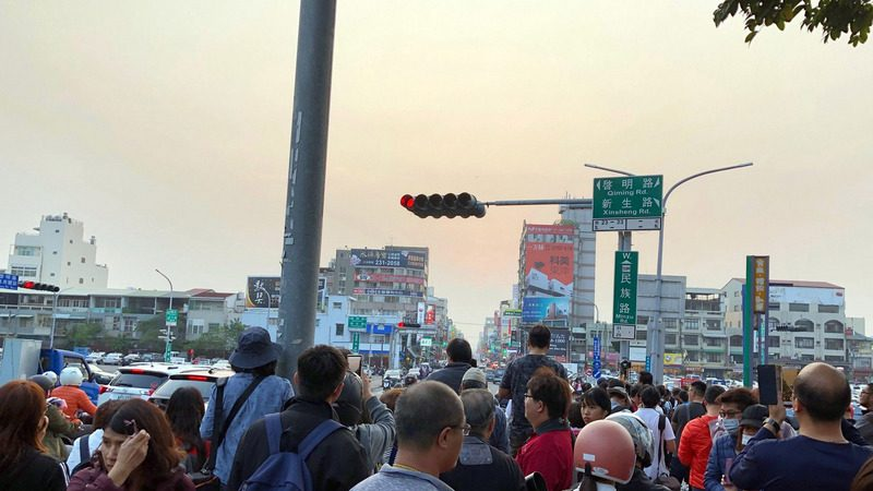台湾今年首场悬日 14日傍晚出现在桃园
