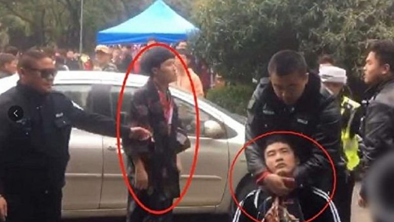 男子穿和服入武漢大學觀賞櫻花遭毆打