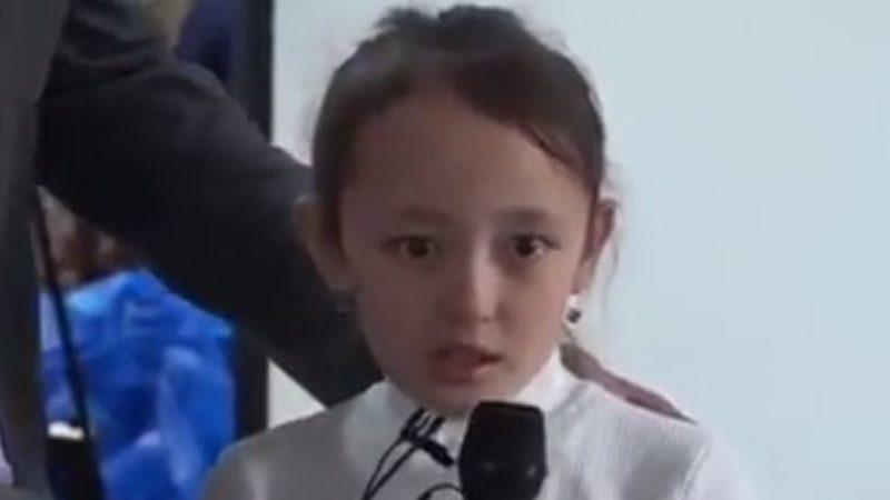 全家被關集中營 新疆小女孩勇敢受訪催人淚下(視頻)