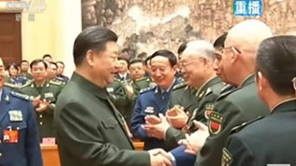 习与江泽民大秘握手画面被剪 内幕不寻常